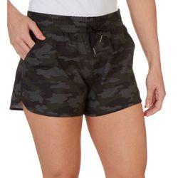 Kyodan Womens Camo Print Drawstring Shorts