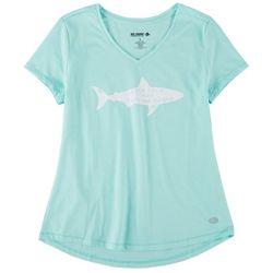 Reel Legends Womens Shark T-Shirt