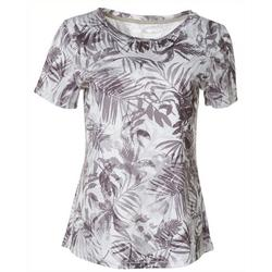 Womens Freeline Airy Palms Shimmer Top