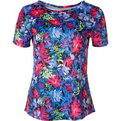 Reel Legends Womens Freeline Floral Top