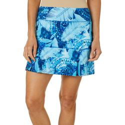 Reel Legends Womens Keep It Cool Jungle Collage Skort