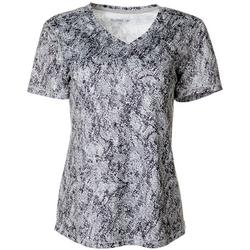 Womens Freeline Graphic Shimmer Top