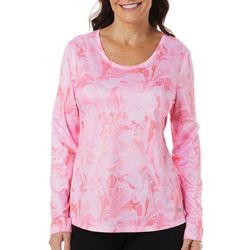 Womens Freeline Marble Splash Shimmer Top