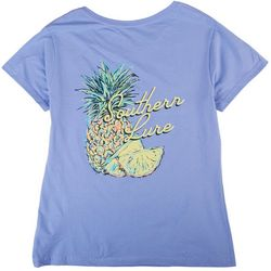 Southern Lure Womens Screen Printed Short Sleeve Top