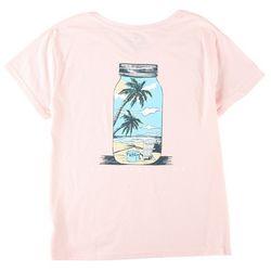 Southern Lure Womens Screen Print Mason Jar T-Shirt