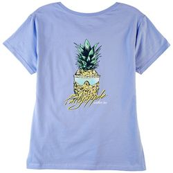 Southern Lure Womens Screen Print Short Sleeve Top