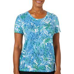 Reel Legends Womens Airy Palm T-Shirt