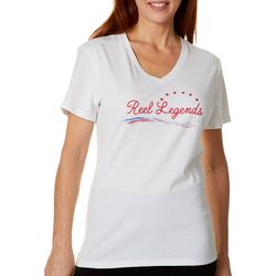 Reel Legends Womens Reel Stars T-Shirt