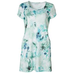 Reel Legends Womens Keep It Cool Miami Palms Dress