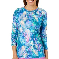 Womens Keep It Cool Abalone Shell Top