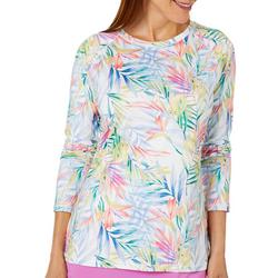 Womens Keep It Cool Blazing Blooms Top