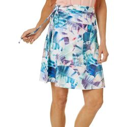 Womens X-Ray Palms Convertible Skirt