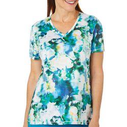 Reel Legends Womens Reel-Tec Floral Movement Shirt