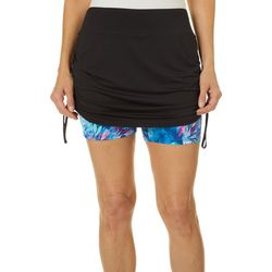 Womens Keep It Cool Misty Palms Skort