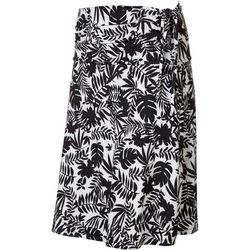 Reel Legends Womens Jungle Print Convertible Skirt