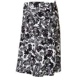 Womens Jungle Print Convertible Skirt