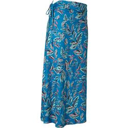 Reel Legends Womens Keep It Cool Leaves Multi Maxi Skirt
