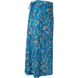 Womens Keep It Cool Leaves Multi Maxi Skirt