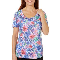 Reel Legends Womens Tropic Nirvana Burnout Top