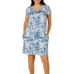 Reel Legends Womens Keep It Cool Marble Splash Dress