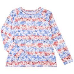 Womens Reel-Tec Americana Long Sleeve Top