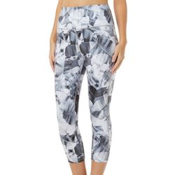 Reel Legends Womens Elite Comfort X-Ray Palms Crop Leggings