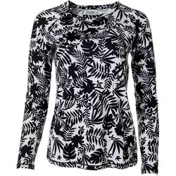 Reel Legends Womens Keep It Cool Jungle Print Top