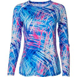 Reel Legends Womens Keep It Cool Bright Baja Print Top