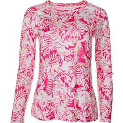 Reel Legends Womens Keep It Cool Tropical Glow Top