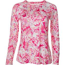 Womens Keep It Cool Tropical Glow Top