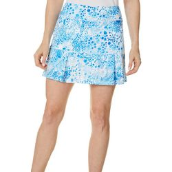 Reel Legends Womens Keep It Cool Bubble Print Skort