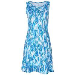 Reel Legends Womens Reel-Tec Majestic Ruffle Dress