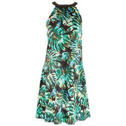 Reel Legends Womens Printed Halter Top Dress