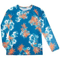 Reel Legends Womens Reel-Tec Printed Long Sleeve Top