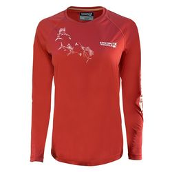 Hook And Tackle Womans Long Sleeve Top