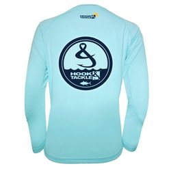 Hook And Tackle Womens Long Sleeved Screen Print Top