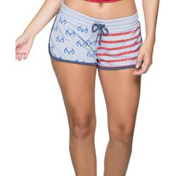 Womens Firecracker Lounging Shorts