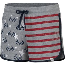 Womens Stars & Bars Lounging Shorts