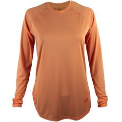 Gillz Womens SeaBreeze Solid Long Sleeve Top