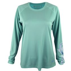 Gillz Womens UV Infinity Fish Long Sleeve Top