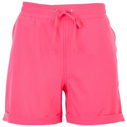 Outdoor Life Womens Solid Linen Shorts