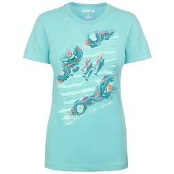 Reel Legends Womens Dolphin Life T-Shirt
