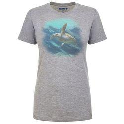 Reel Legends Womens Turtle Heathered T-Shirt