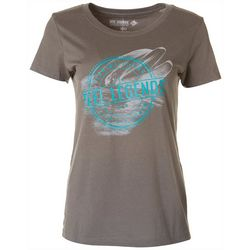 Reel Legends Womens Logo Dolphin T-Shirt