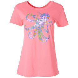 Womens Logo Octopus T-Shirt