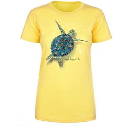 Reel Legends Womens Turtle Chase T-Shirt