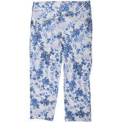 Womens Floral Dream Capri Pants