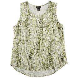 Womens Printed Sleeveless Top