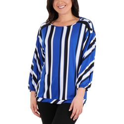NY Collection Womens Dolman Sleeve Top