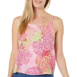 Le Kate Womens Dotted Tank Top